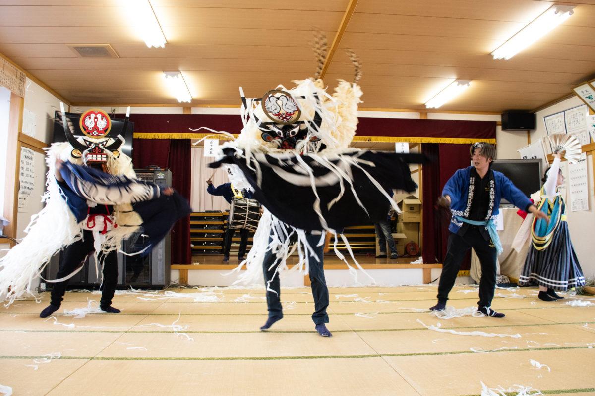 全国8箇所で獅子舞同時開催!岩手県遠野市「長野獅子踊り」のコロナ退散に密着