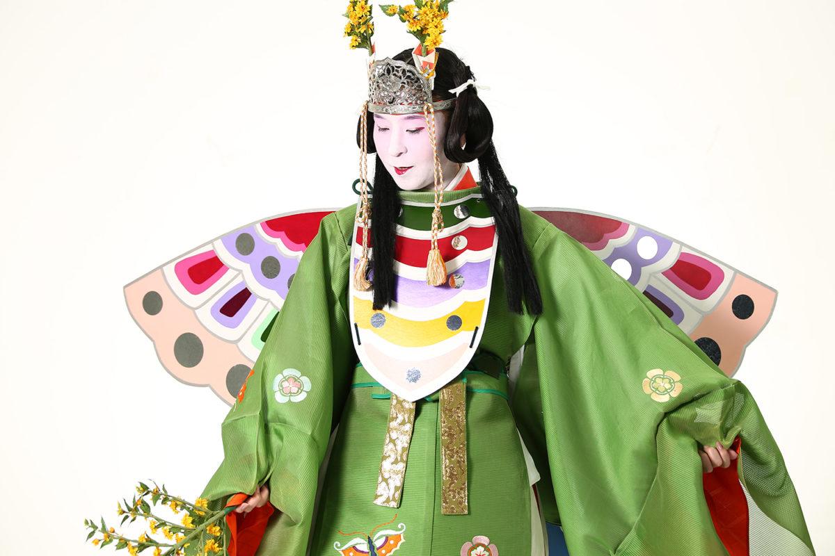 童舞「胡蝶」を大人でも舞える女人舞楽・原笙会