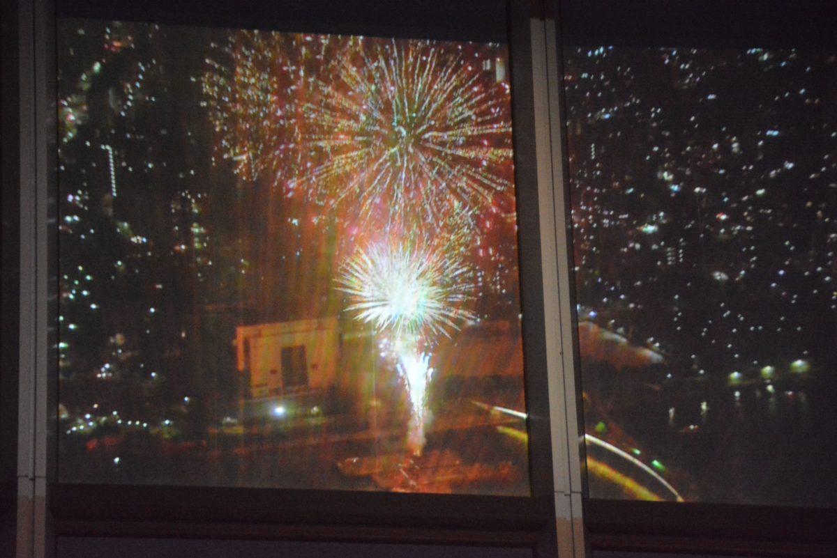 【東京スカイツリー・バーチャル花火】天望デッキで眺める隅田川花火大会
