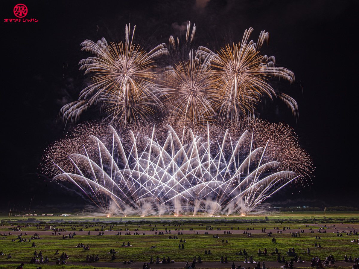 秋田・大曲でサプライズ花火実施!競技会クラスの超絶花火が聖地を彩る