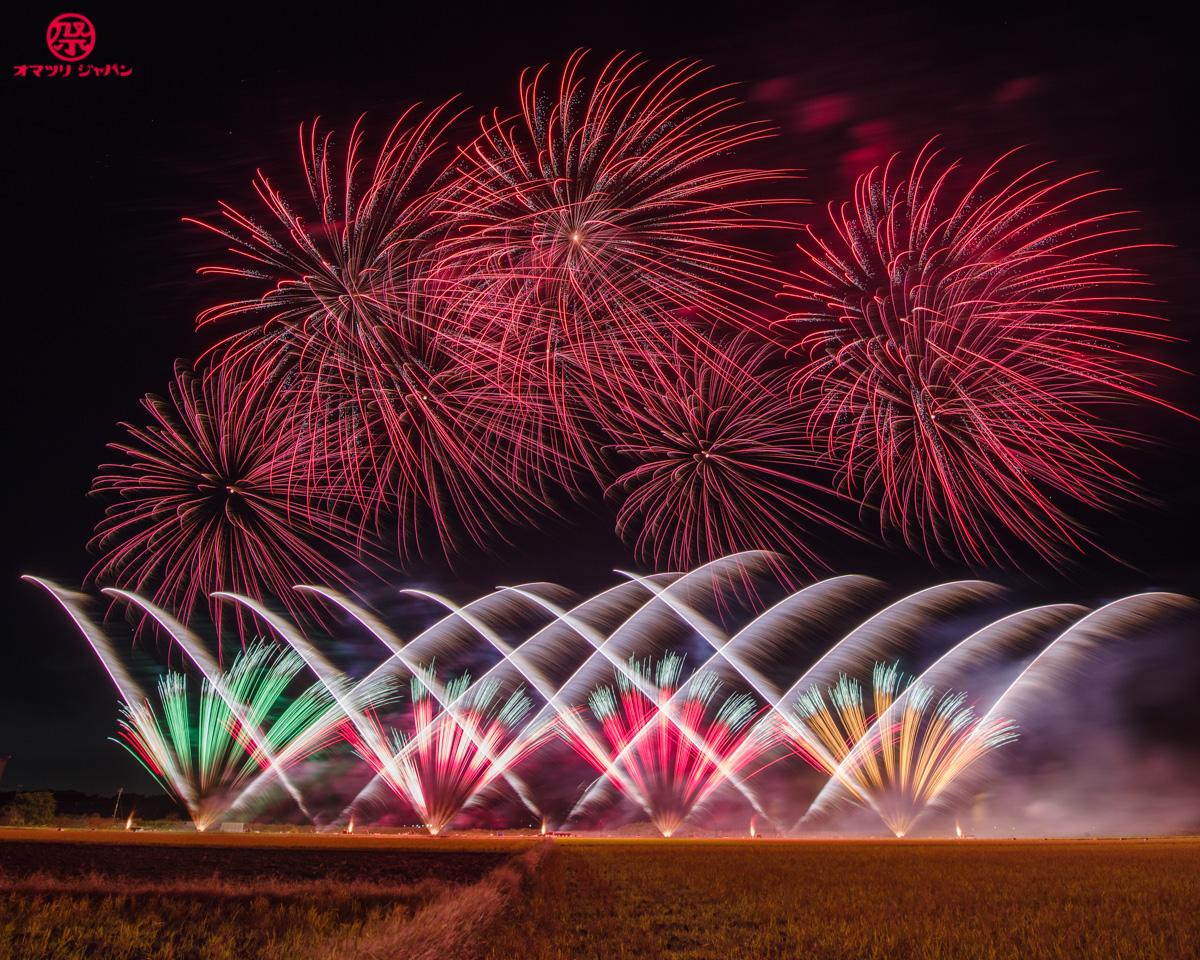 NARITA Yell花火で笑顔を!最先端の花火ショーが夜空を彩る