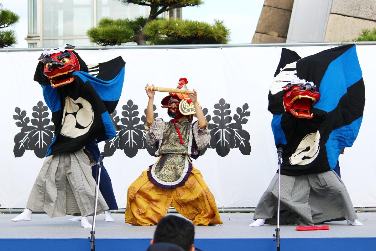 駆け上がれ!秀吉~大阪城の秋まつり2020~、一日目速報レポート