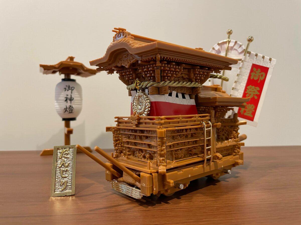めちゃめちゃ詳しい人と組むプラモは楽しい。「泉州だんじりプラモデル 岸和田型」をだんじり専門ライターと組んでみた。