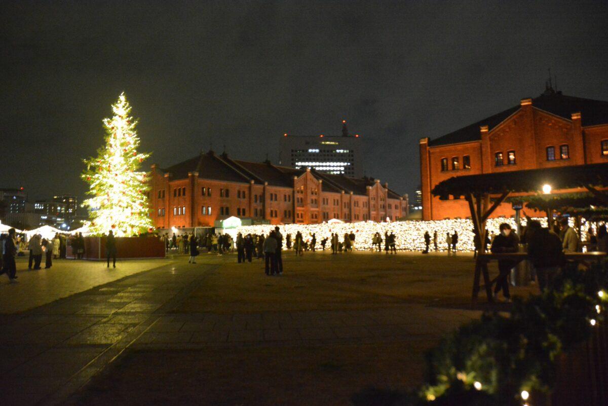 【横浜赤レンガ倉庫クリスマスマーケット】ドイツの12月ムード漂うパーク