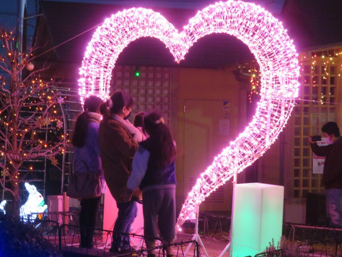 【どまんなかたぬまガーデンイルミネーション】日本列島の中心の温かな輝き