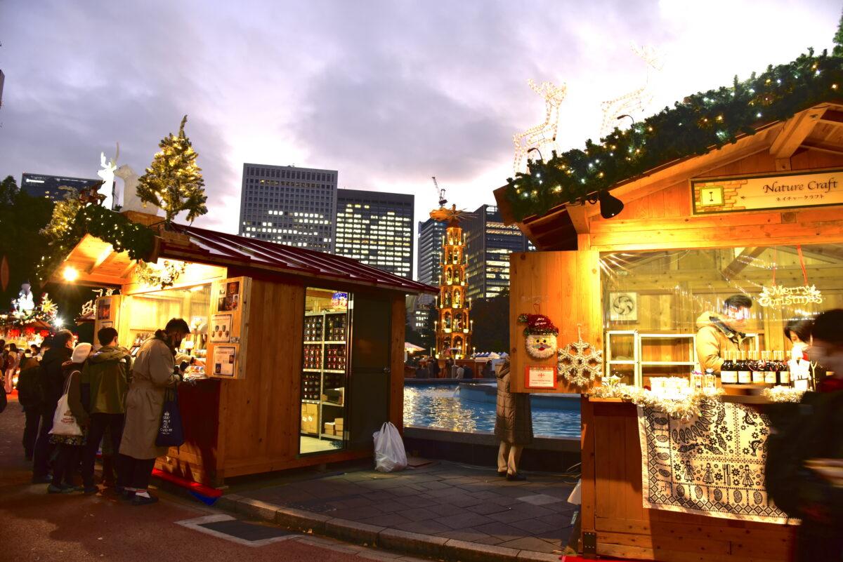 東京クリスマスマーケット!本場ドイツのクリスマスマーケット気分を味わえる?