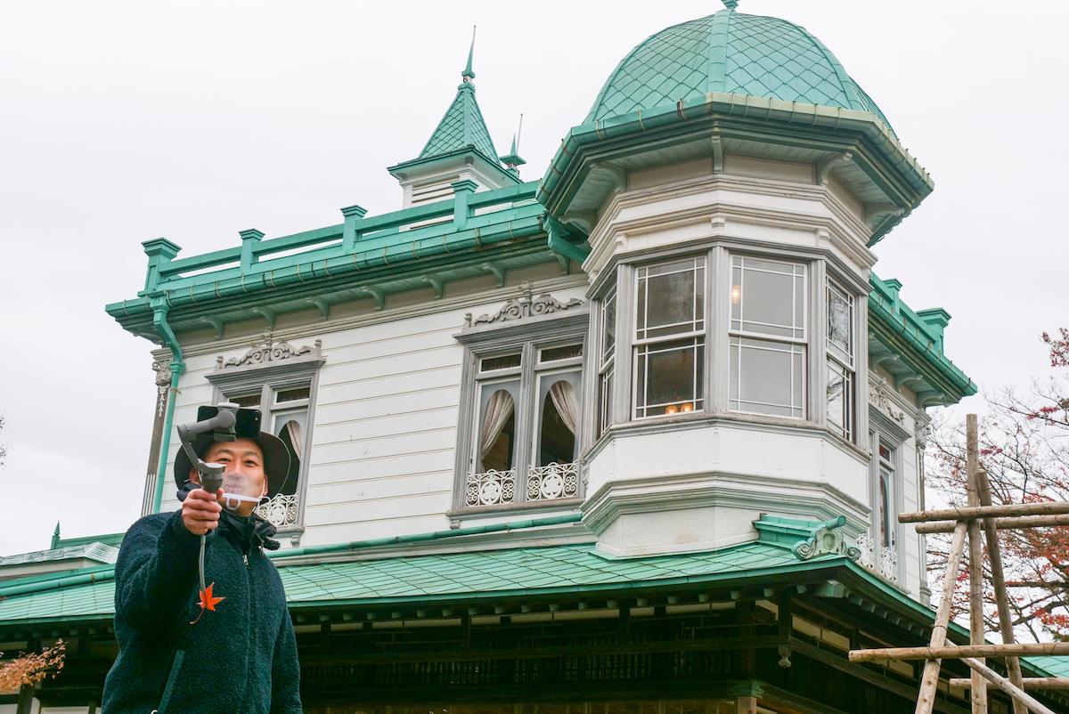 ジブリ映画のモデルをリモート観光!盛美園オンラインガイドツアーに参加してみた(青森県平川市)