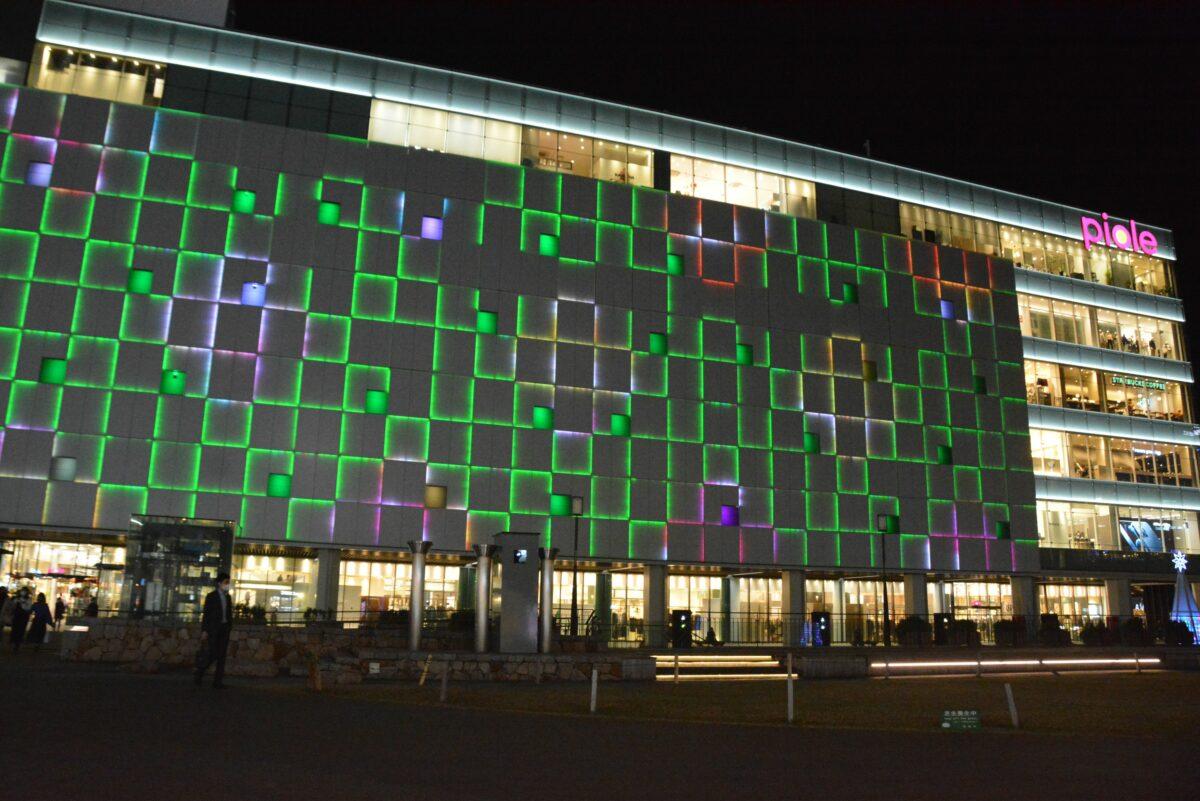 【ピオレウォールイルミネーションファンタジー】光のアートで輝く姫路駅