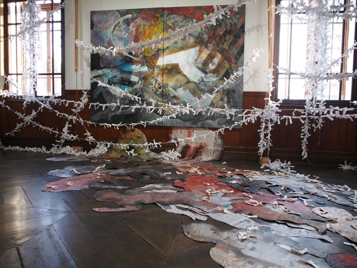 【時空をつなぐ現代アート展】盛岡のレトロ建築で摩訶不思議な世界へ