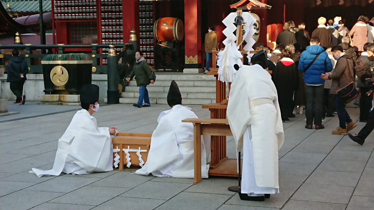 神田明神 師走大祓式でコロナを吹き飛ばしたい!