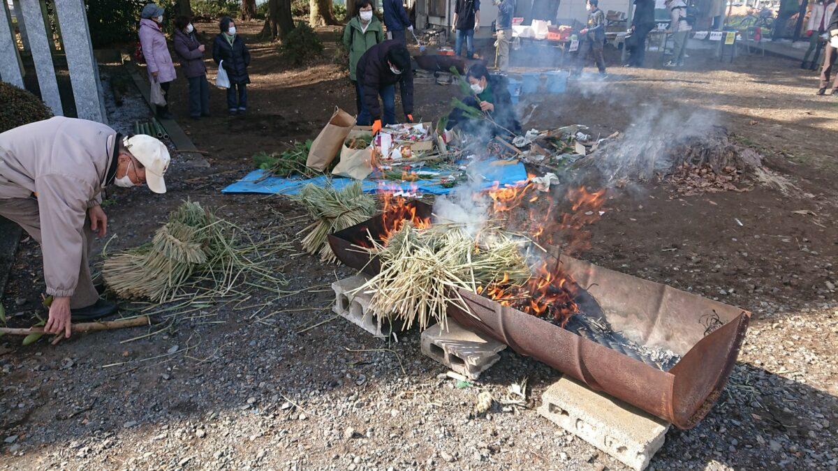 東京・日野の地域で再興した小さな伝統行事「平山どんど焼き」をレポート