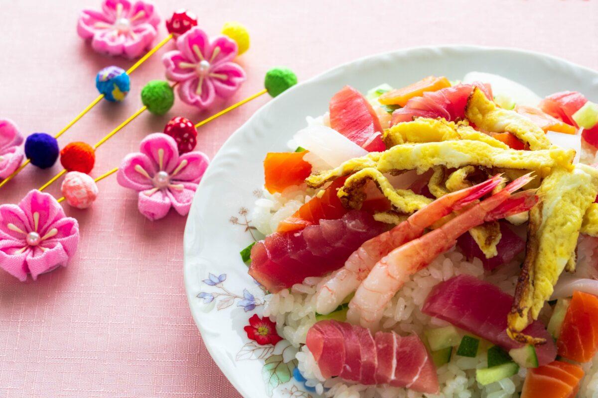 ひな祭りにキャラクターちらし寿司を作ろう!お子様が喜ぶレシピはコチラ!