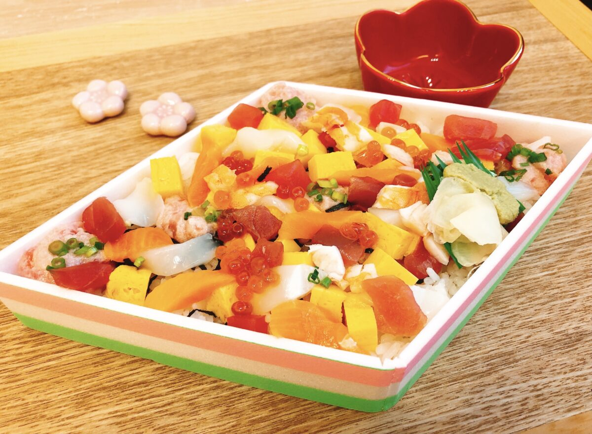 京樽のひなまつり限定ちらし寿司は可愛くておいしい!実食レポ<2021年>