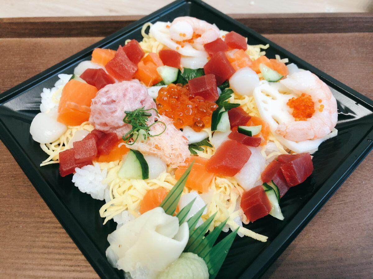 ちよだ鮨のひなまつり!ずわいがに入りのちらし寿司はコスパ最高!<2021年>