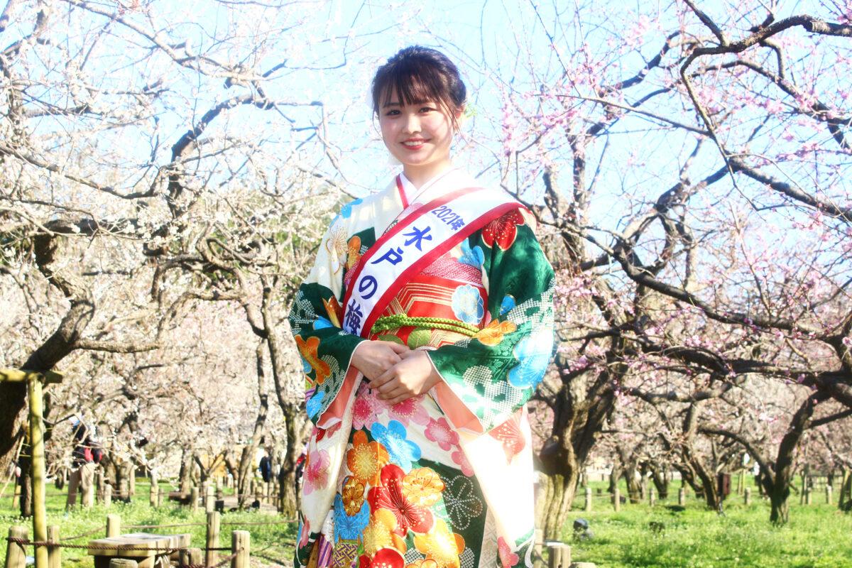 水戸の梅まつり2021開催中!梅満開の偕楽園で、梅大使が見どころを紹介!