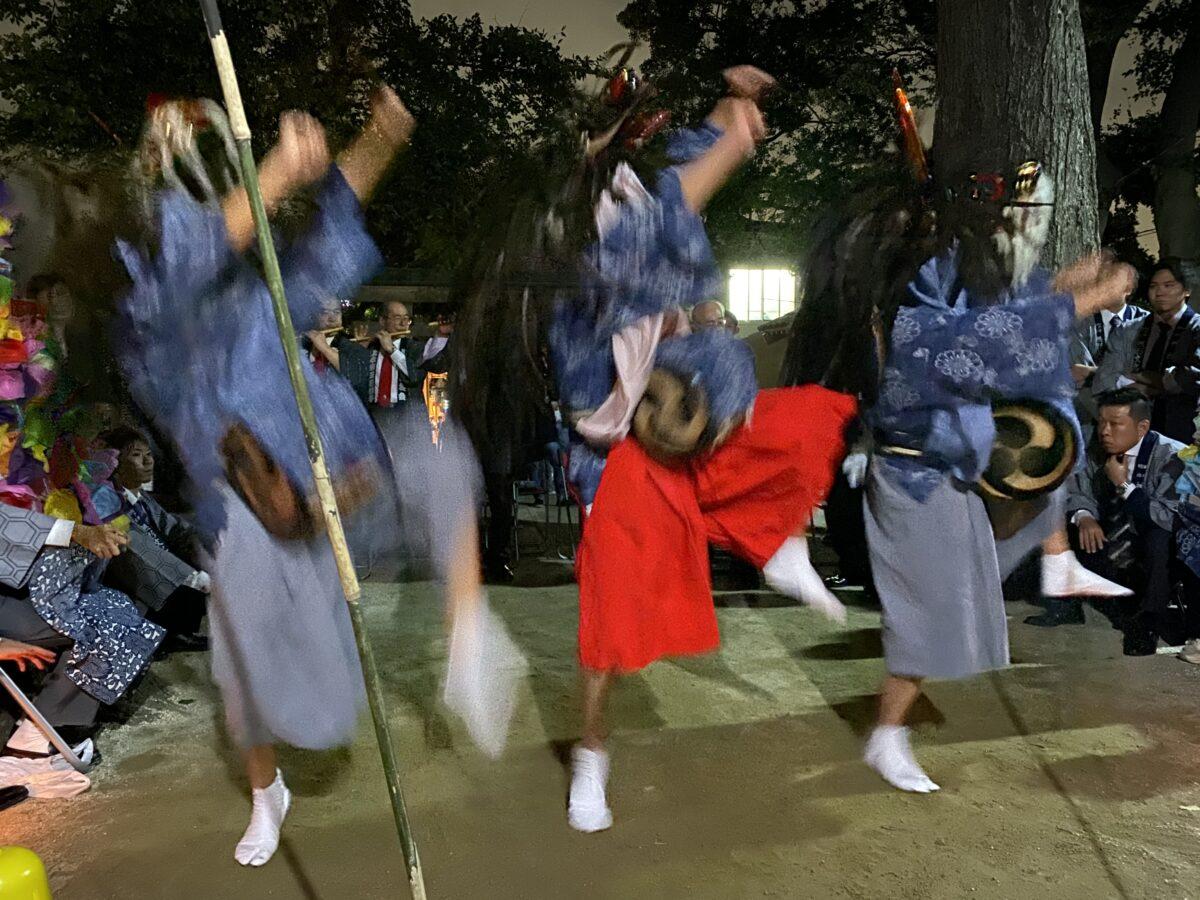 「上本郷三匹獅子舞」心打つ若獅子たちの勇壮な舞い|観光経済新聞