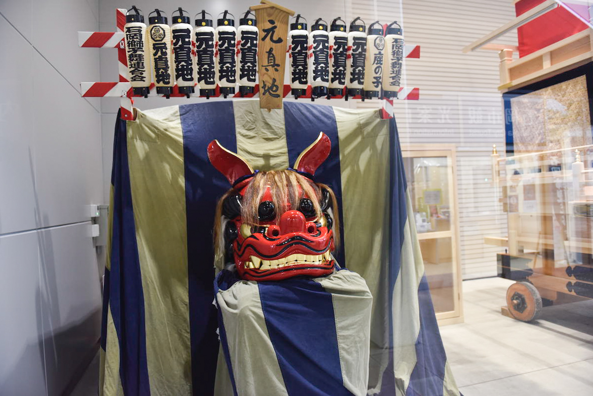茨城県石岡市は獅子舞が盛んな街!お祭り、獅子頭制作、マンホール...なぜ盛んなのか調べてきた
