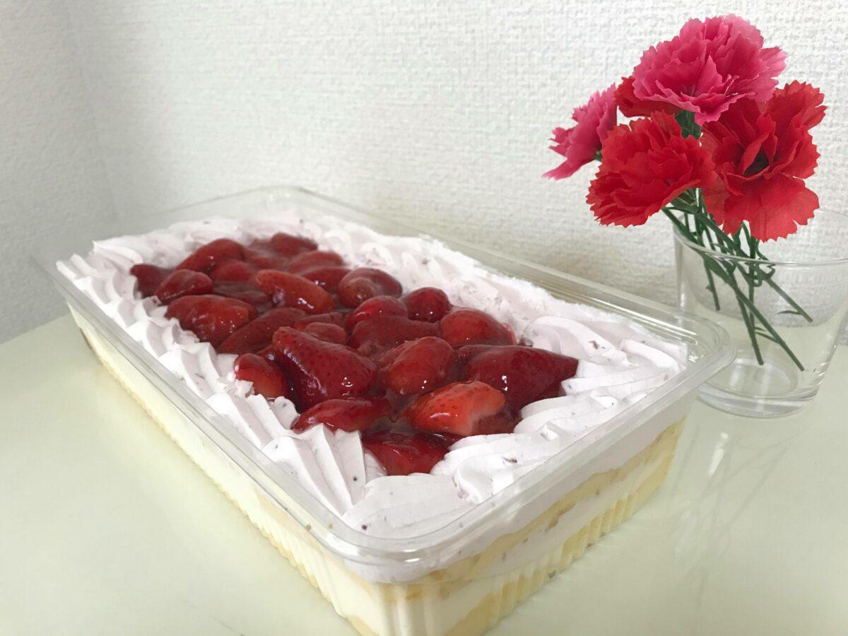 母の日にピッタリ!コストコの赤白カラーのケーキって?実食レポ