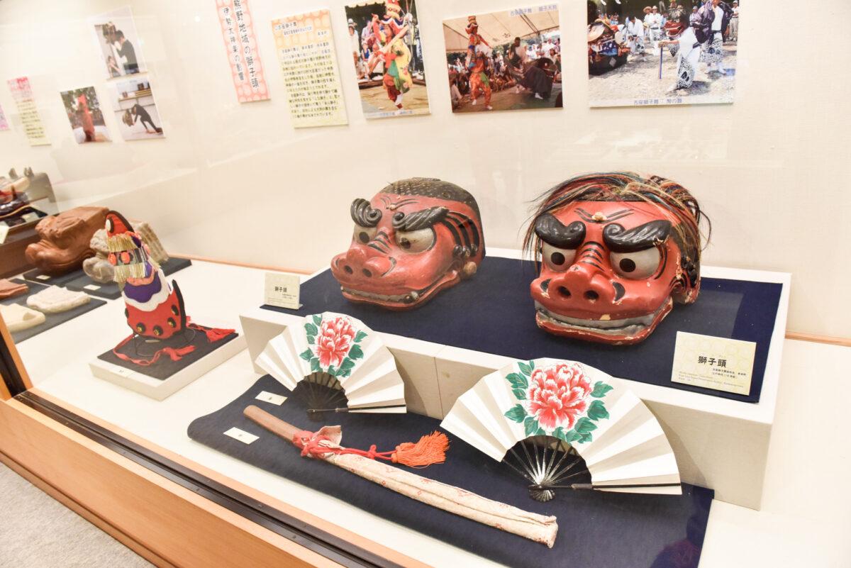 和歌山の獅子舞の魅力とは?紀伊風土記の丘で企画展「紀州の獅子と獅子頭」を開催