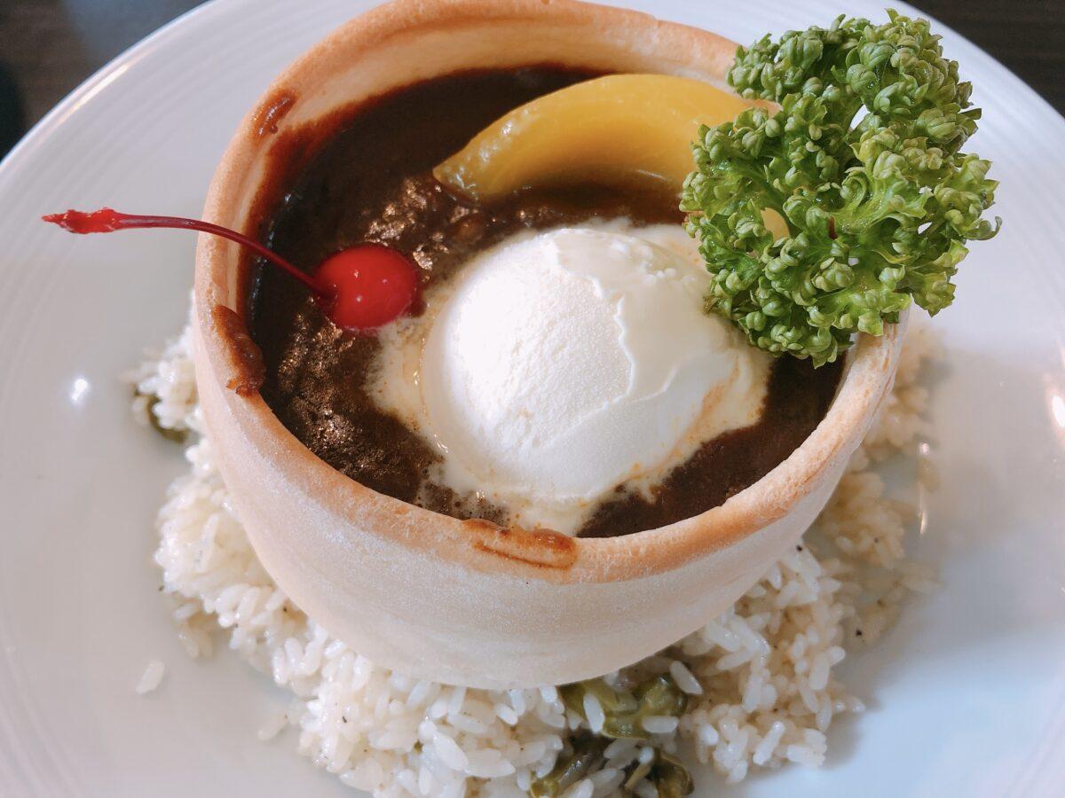 カレーとアイス、夢の共演!? 名古屋のカオスティック喫茶「マウンテン」の衝撃アイスクリームの味は!? 実食レポ