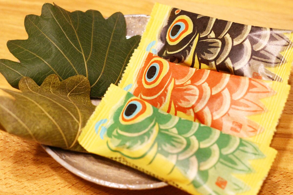 たねやのこどもの日に合わせた和菓子を紹介!柏餅からこいのぼりまで!?