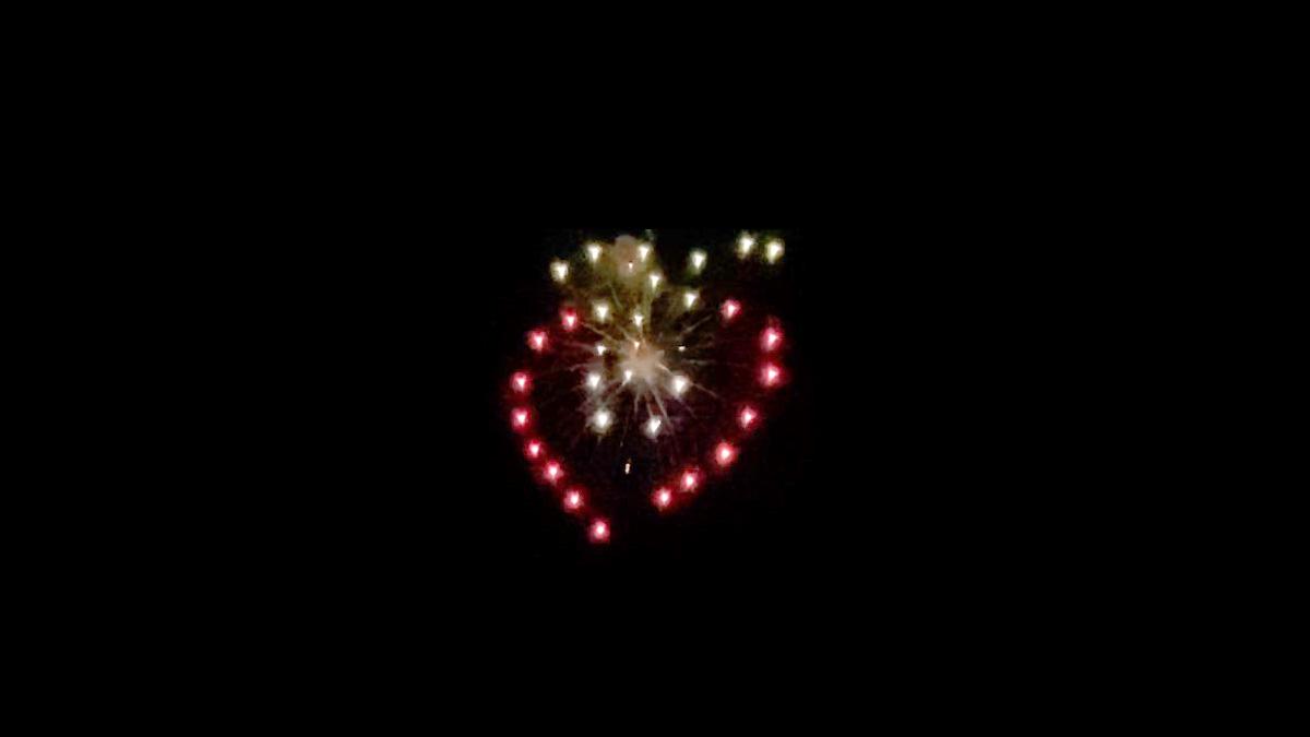 #花火駅伝 現地レポート!栃木・小山でいちごカラーの花火が夜空を彩る