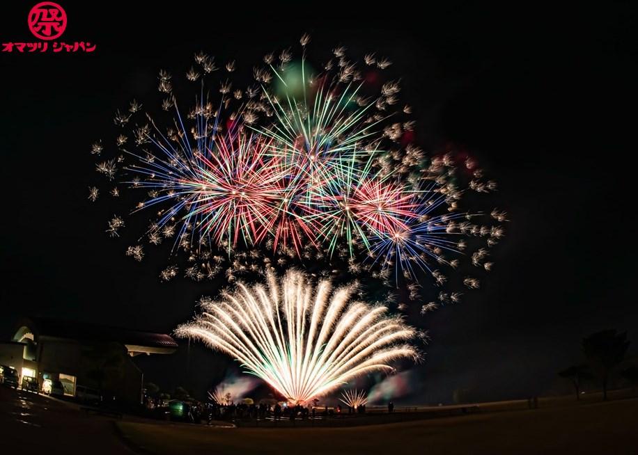#花火駅伝 in福岡・平尾台グランピングOPENING EVENTサプライズ花火!現地レポート