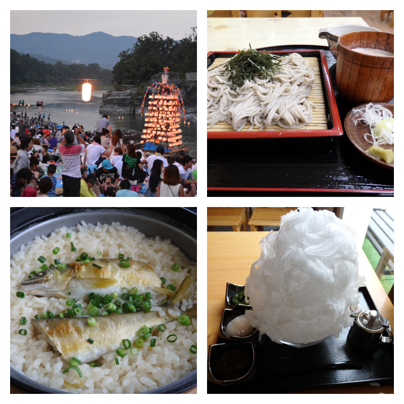 長瀞の魅力とは?埼玉の深部で楽しめるご当地グルメ4選&お祭り