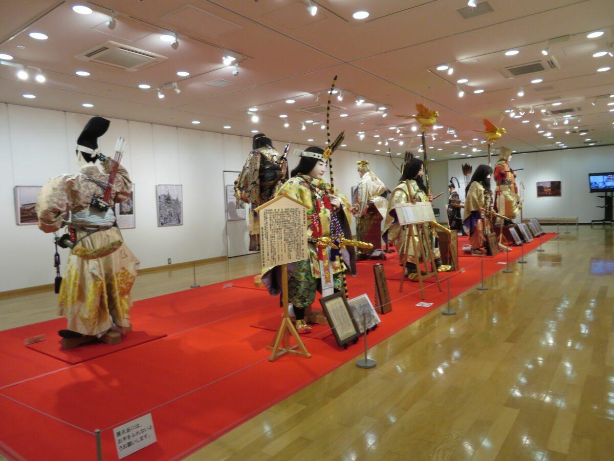 関東の山車人形と成田祇園祭展が開催中!展示物に漲る300年の歴史