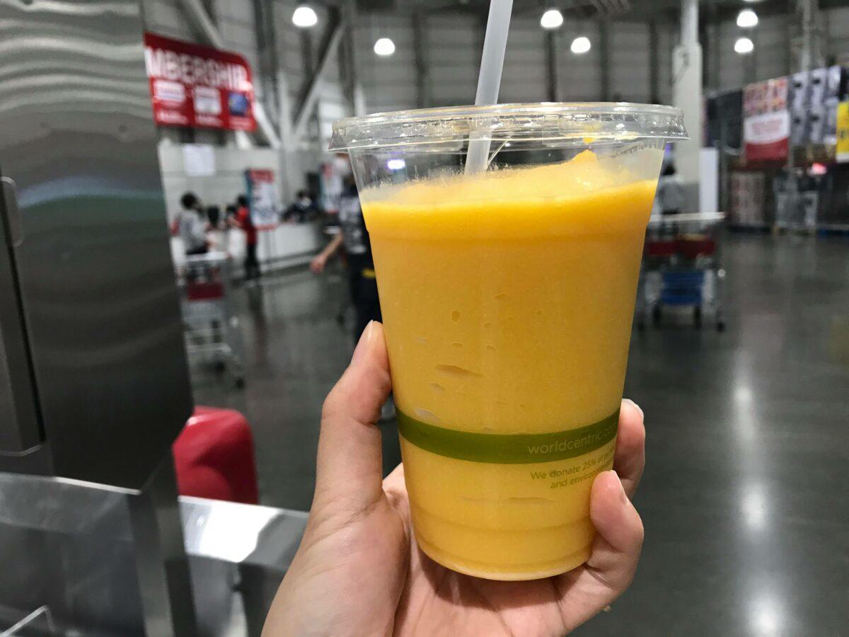 夏だ!マンゴーの日に飲みたい!コストコのマンゴースムージー<実食レポ>