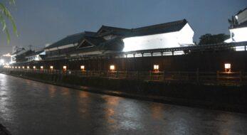 うずま川行灯まつりが開催中!蔵の街が温かな光で包まれ小江戸の情緒が漲る