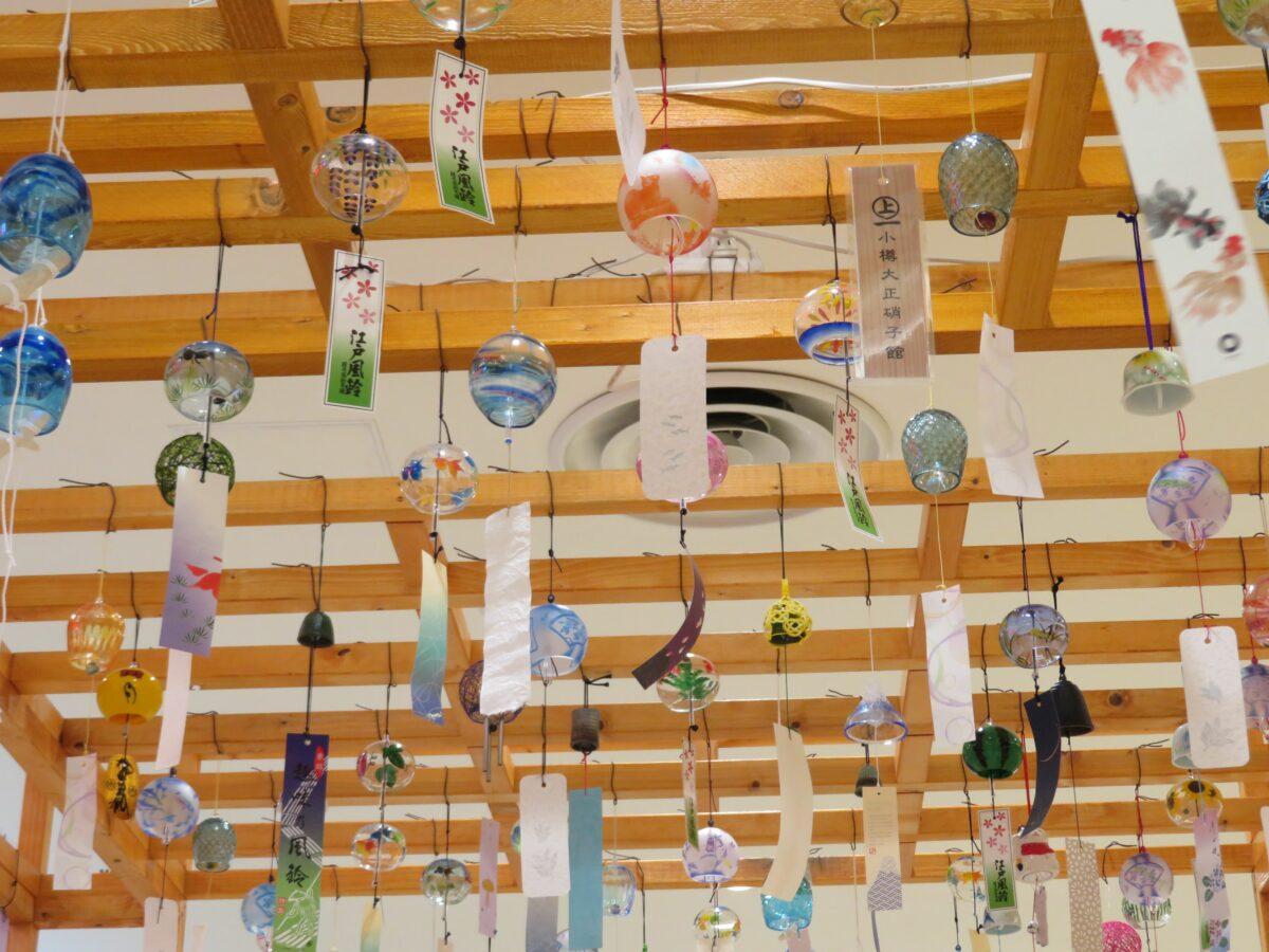 西新井・風鈴まつりが開催中!夏の街歩きスタンプラリーで風鈴朱印めぐり
