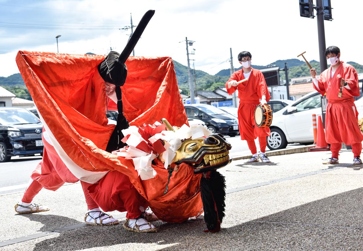 日本遺産認定・麒麟獅子舞を身近に体験!?鳥取県各地で行われる麒麟獅子舞体験体感プログラムとは?