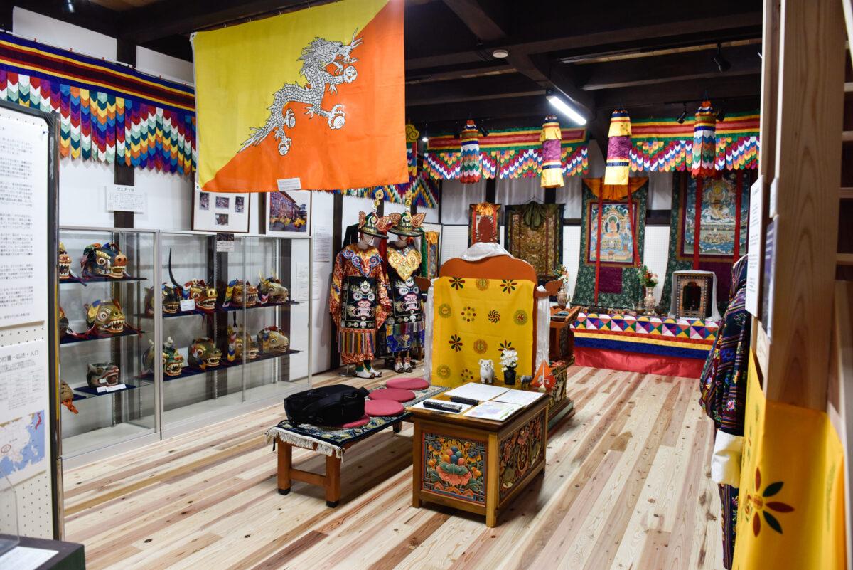 ブータンと日本はそっくり!?福井県勝山市「ブータンミュージアム」のお祭り展示を見てきた