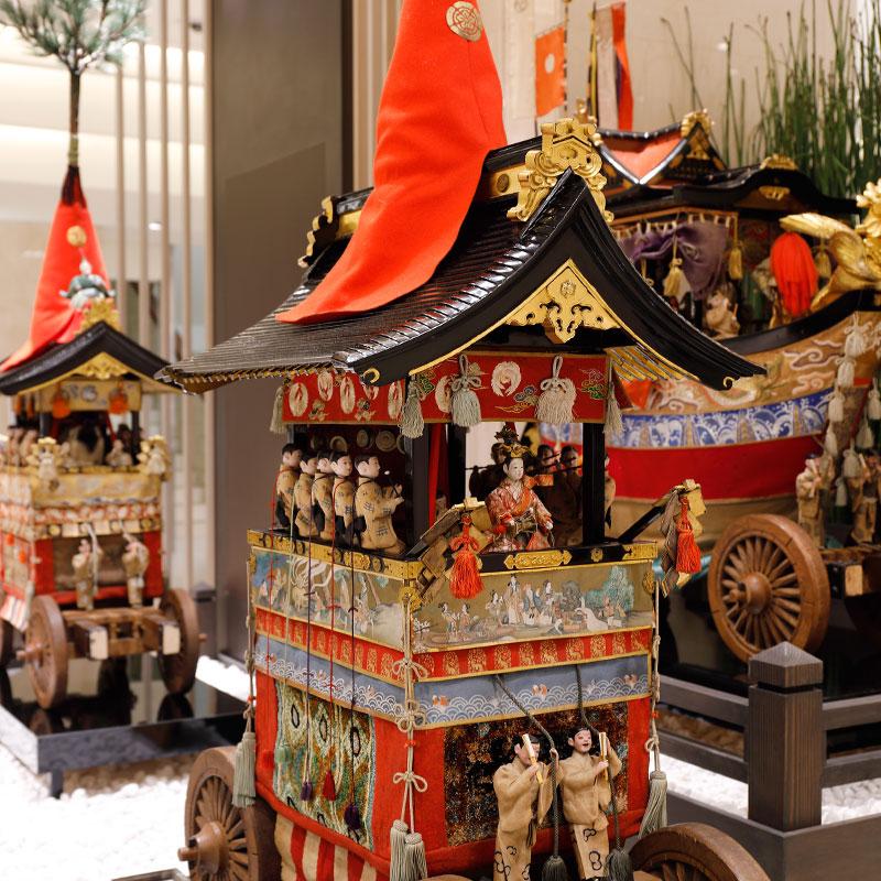 日本三大祭【祇園祭】の文化支援キャンペーンを大丸京都店にて開催中