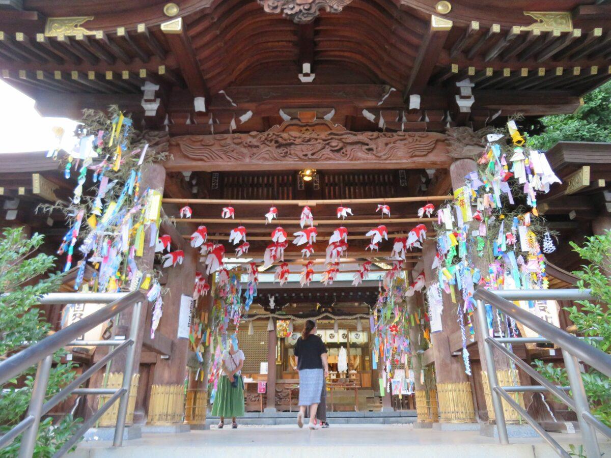 鳩ケ谷氷川神社七夕まつりで、手ぶらで願い事!期間限定の御朱印も!