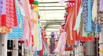 仙台七夕まつりが2年ぶりに開催!鮮やかな七夕飾りが夏を彩る【初日速報】