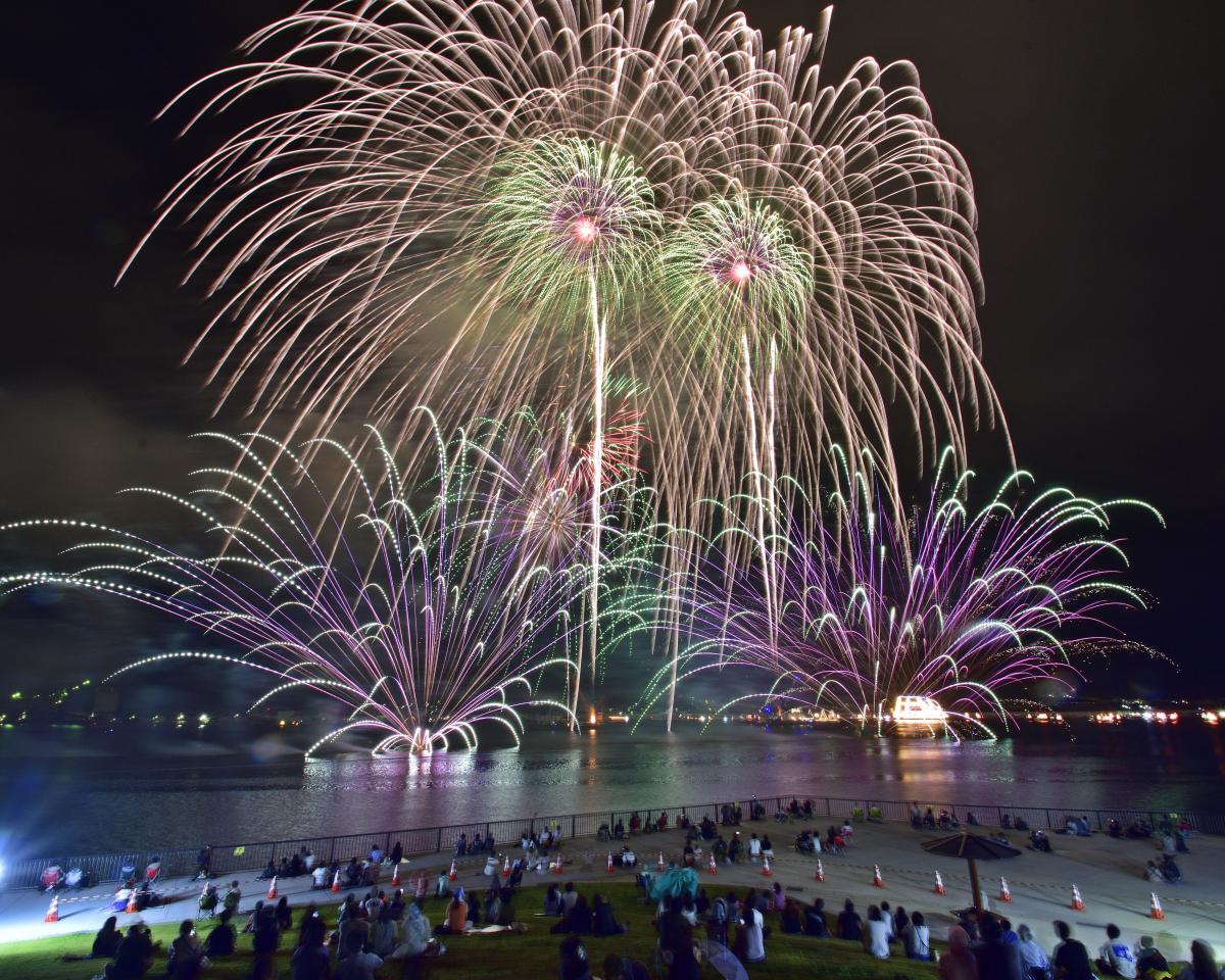 【三陸・大船渡夏祭り2021】 ~大きな花火は活力の火種!コロナ禍からの復活!~