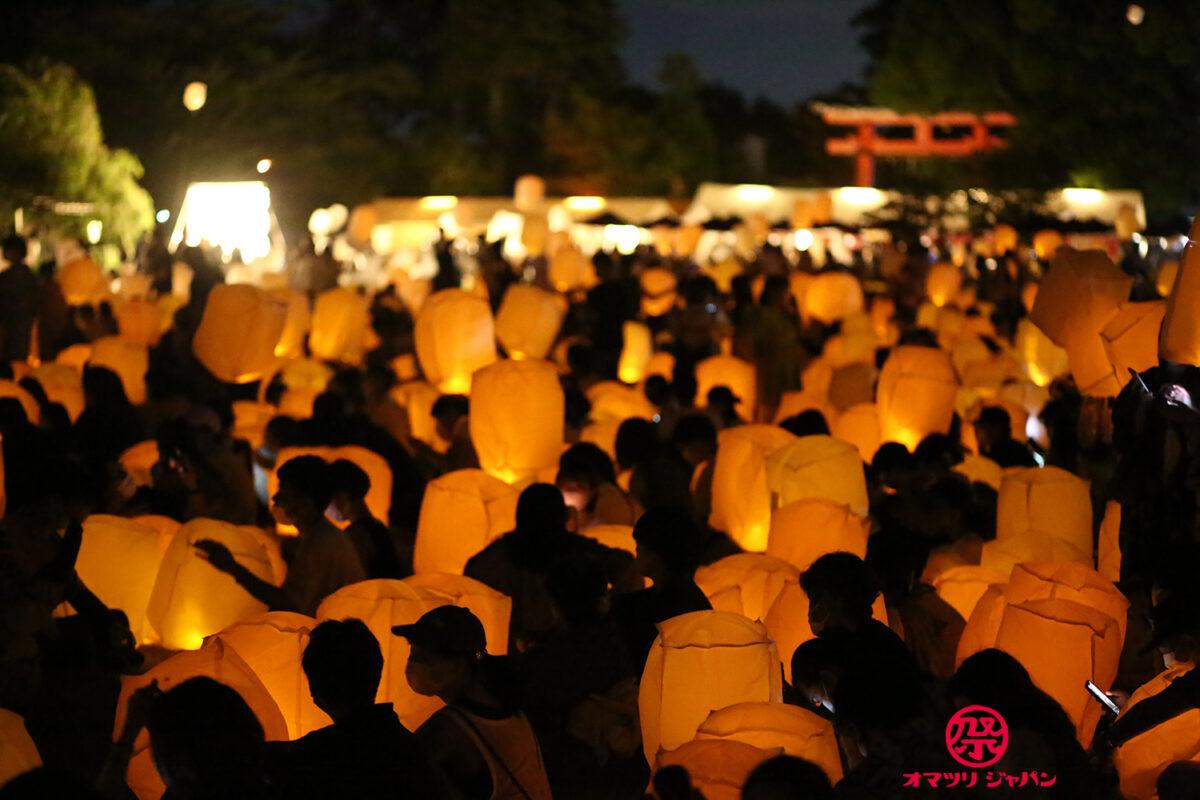 京都七夕スカイランタン祭り2021 七夕に京都の空へ願いを乗せて