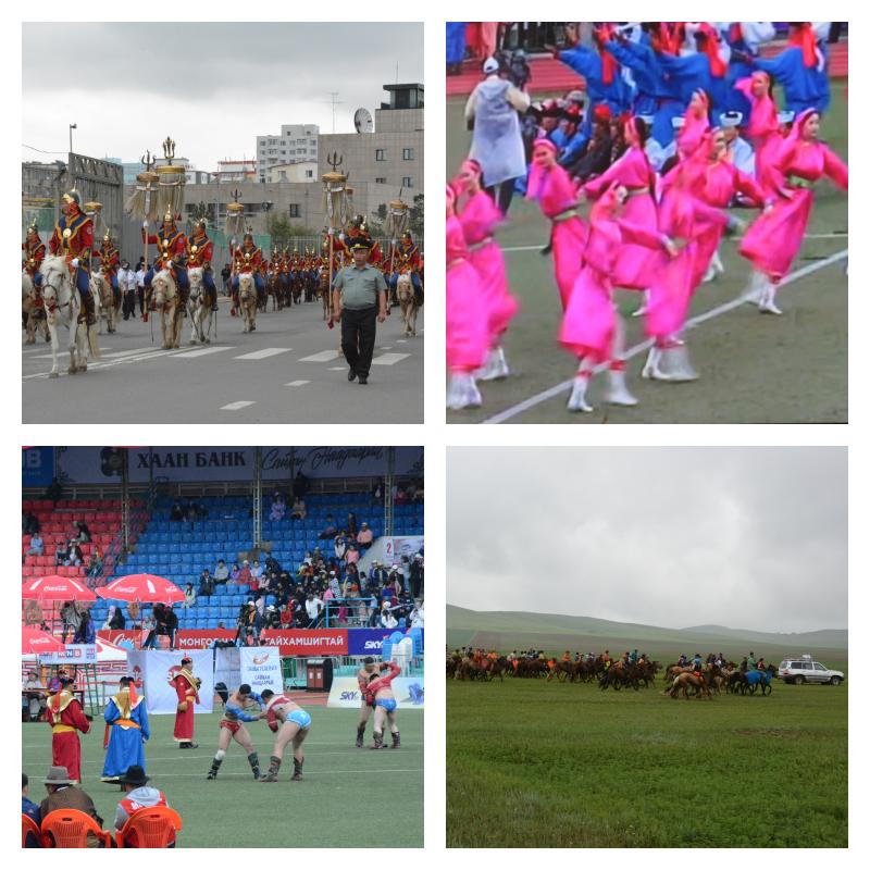 モンゴルのスポーツの祭典ナーダムで熱狂する中央アジアの遊牧民族