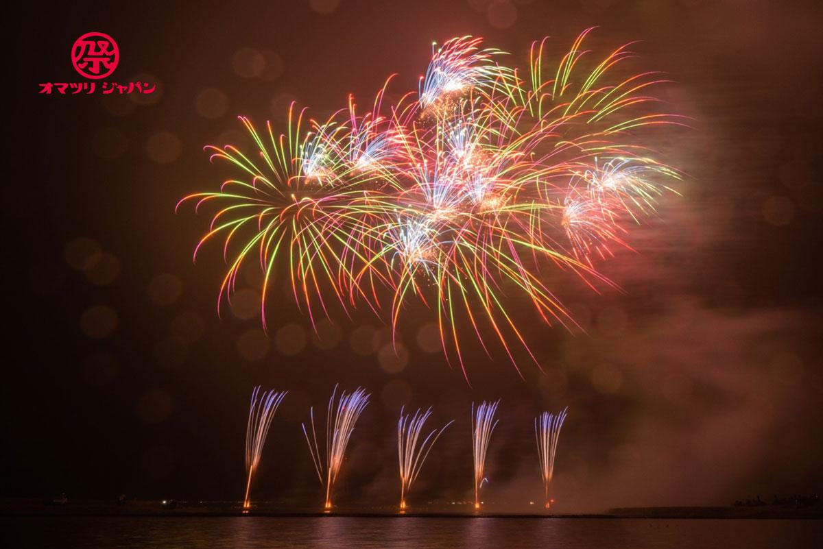 追悼福興花火2021南相馬 with LIGHT UP NIPPON 8月11日の月命日に慰霊と復興の花火を打ち上げる。