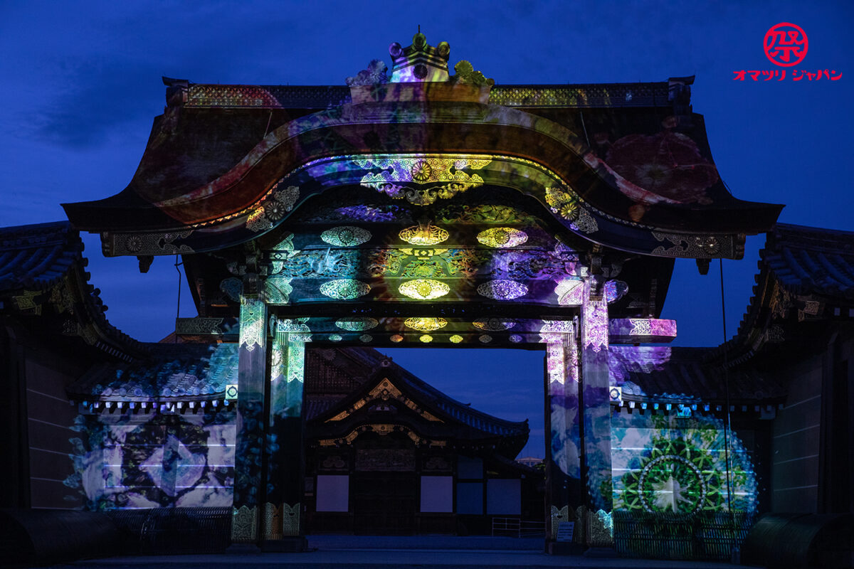 二条城×ネイキッド「二条城夏まつり2021」ライトアップをレポート!安心安全に楽しむ京都の夜