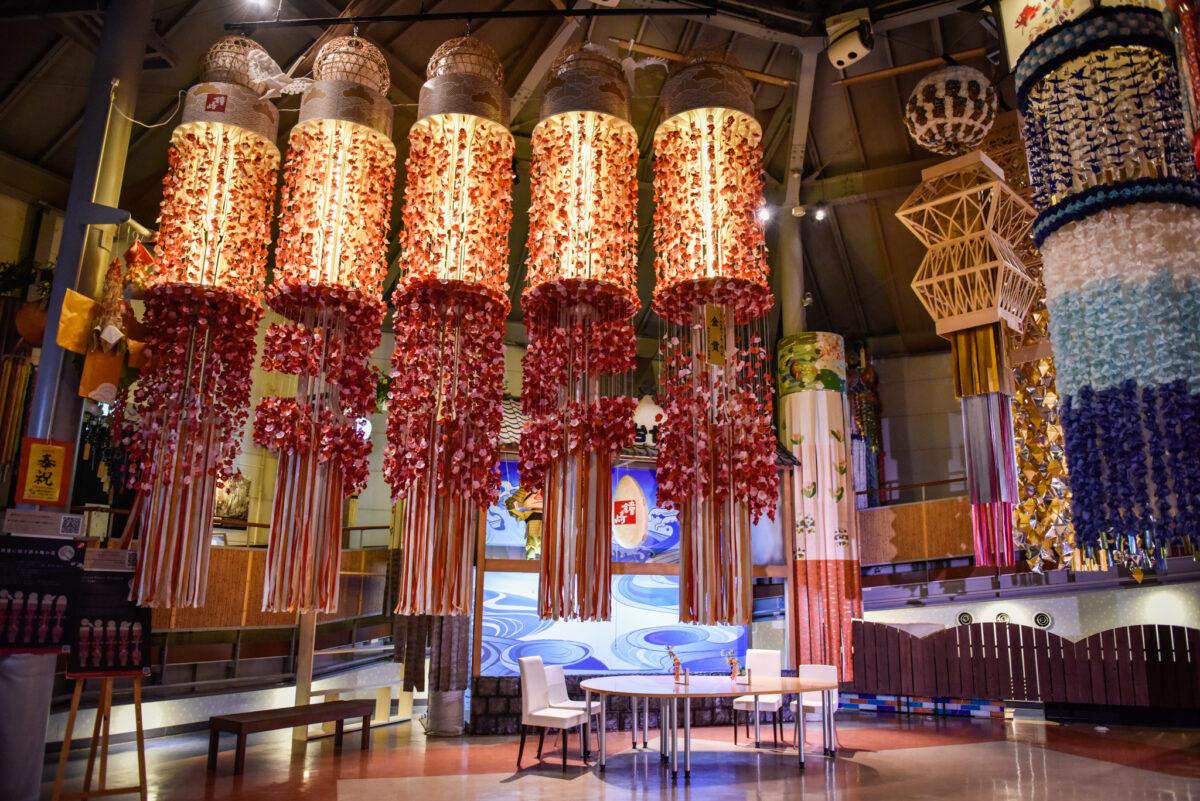 一年中、仙台七夕まつりの飾りを見られる「七夕ミュージアム」とは?手作り体験も