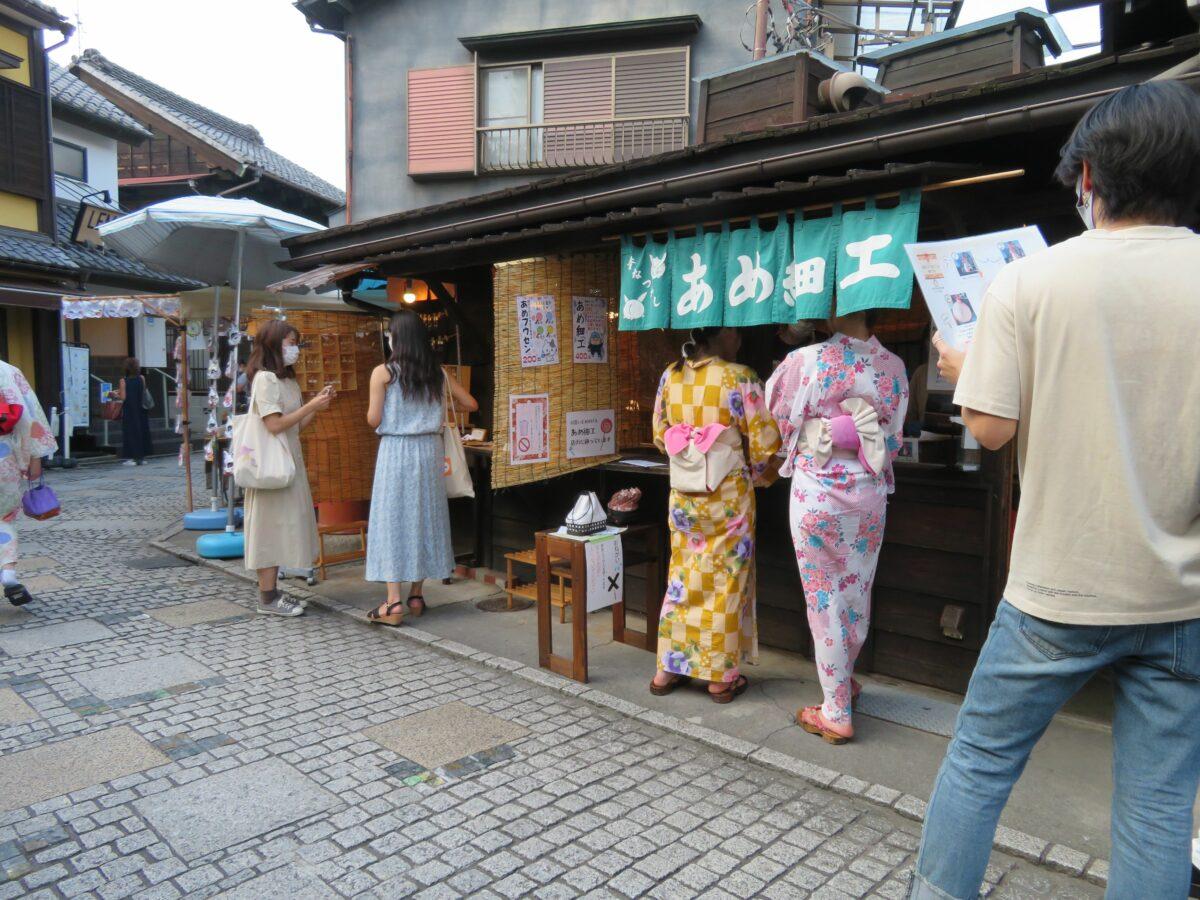 飴細工にもチャレンジできる!小江戸川越の菓子屋横丁で飴めぐり