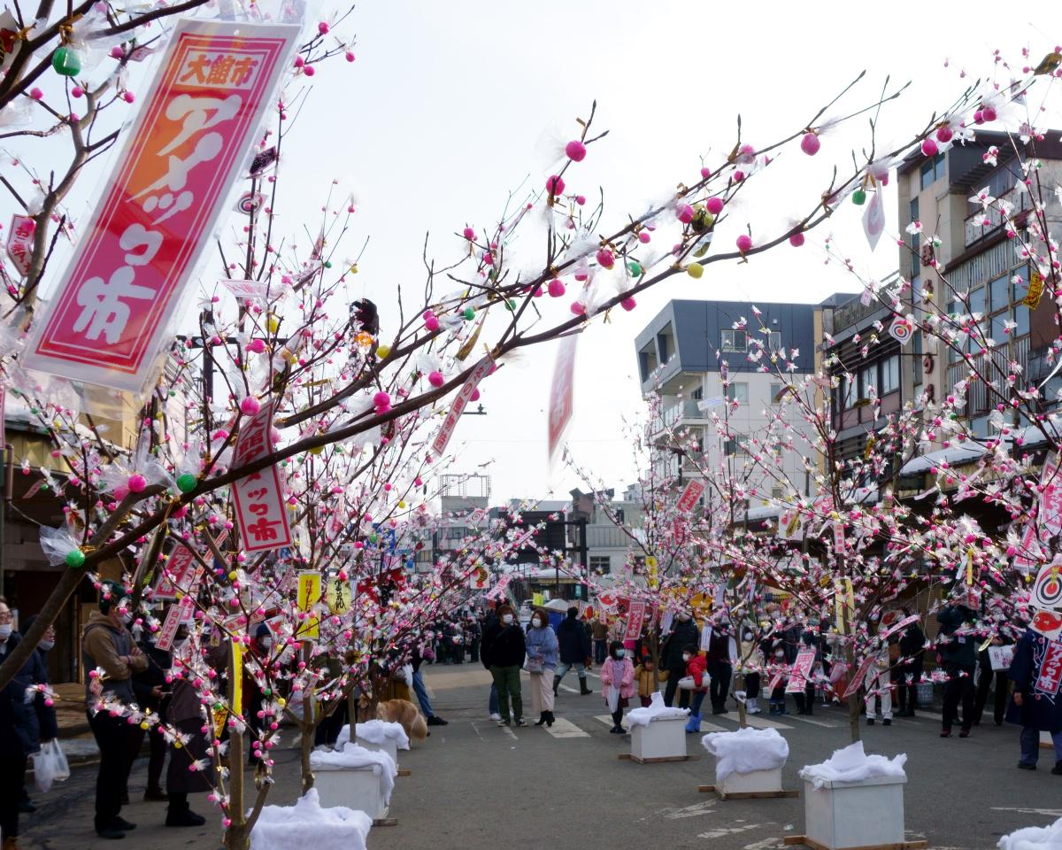 「大館アメッコ市」冬の秋田に咲く飴の花|観光経済新聞