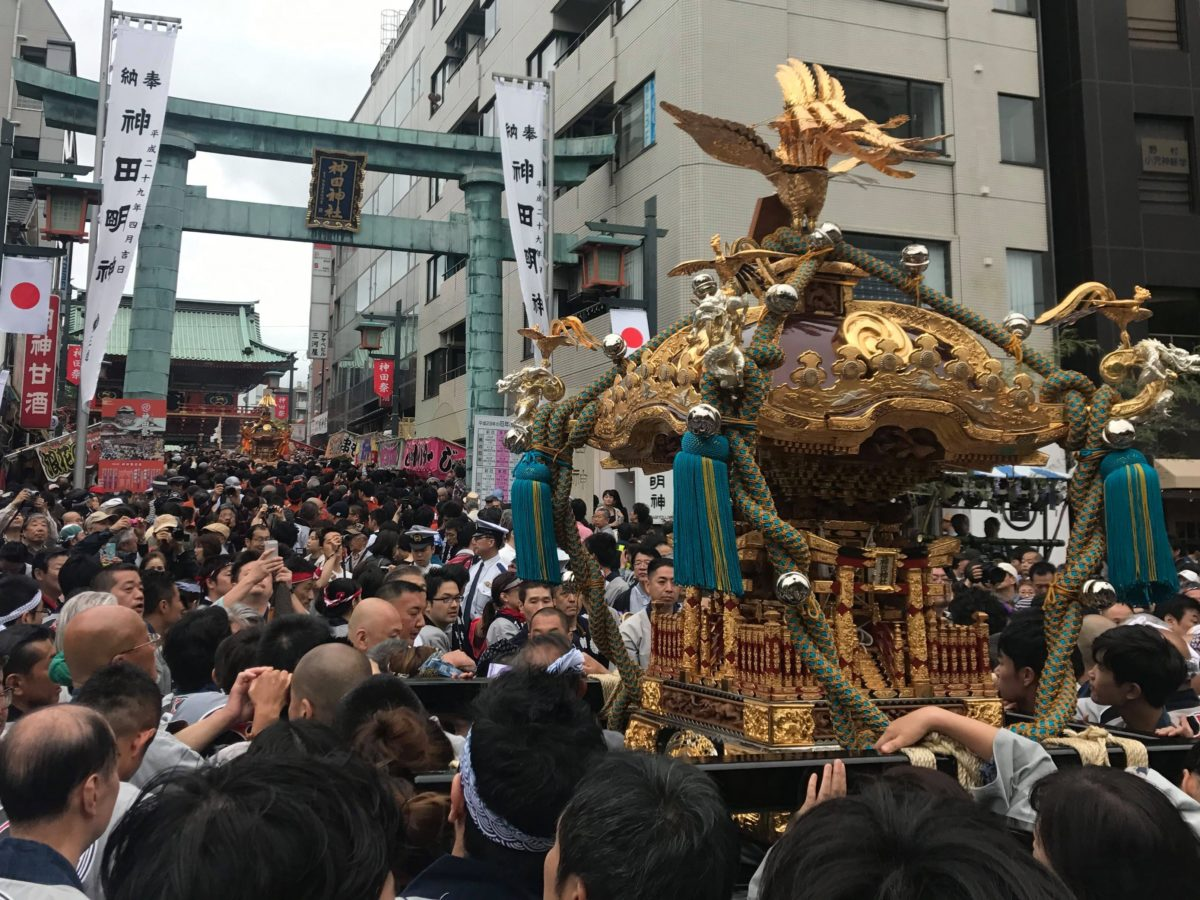 江戸三大祭りって知ってる?もらえる御朱印とともにご紹介!