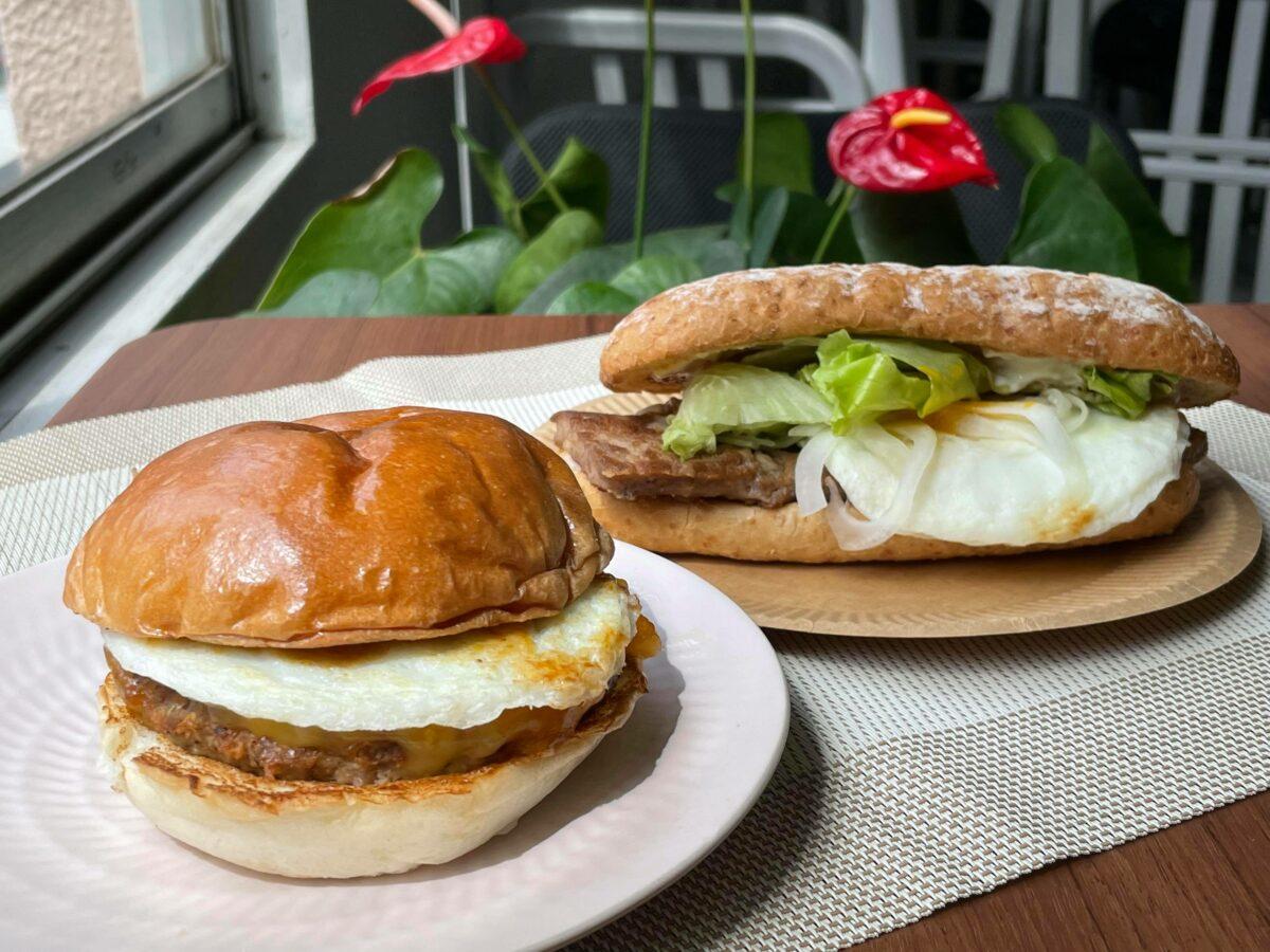 ロッテリアの「和風半熟月見バーガー」2種食べ比べ!買うなら絶対〇〇のほうをお薦め!