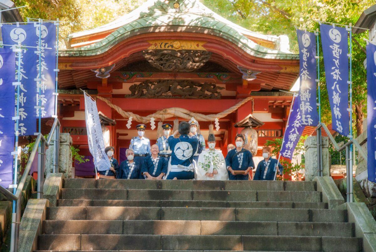 御幣渡御に密着!令和3年・雪ヶ谷八幡神社・コロナ禍の例大祭を速報レポート