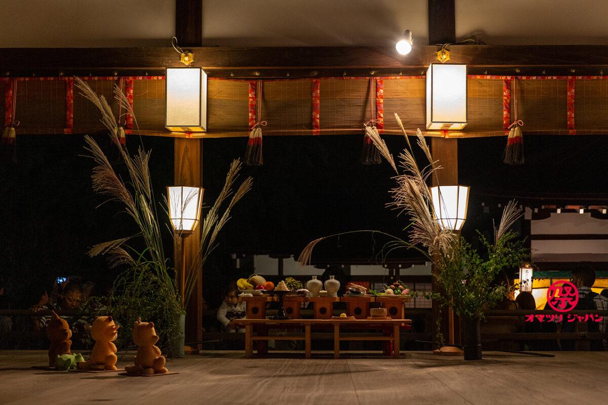 中秋の名月は下鴨神社「名月管絃祭」へ!京都の雅なお月見で王朝舞や琵琶を堪能
